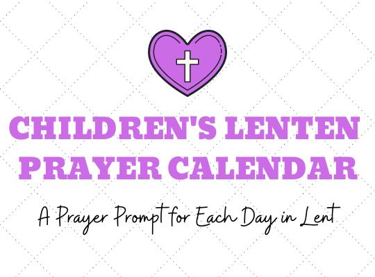 Lenten Prayer Calendar for Website