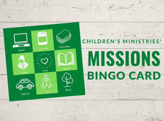 Missions Bingo Card Website