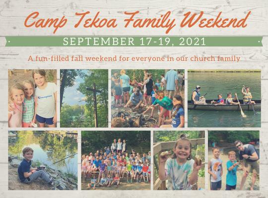 Camp Tekoa Family Weekend for Website