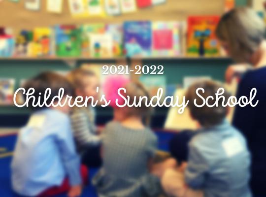 Sunday School Registration website