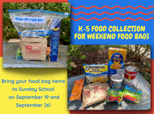 K-5 Food Collection